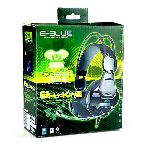 E-Blue Micro Cobra 926 EHS926BK Shocking Gaming Headset