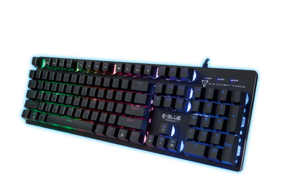 E-Blue The Professional EKM768BKUS Multimedia Gaming Keyboard