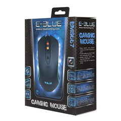 E-Blue EMS667BK RGB 3500DPI Gaming Mouse