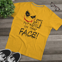Joker Let's Put A Smile On That Face! Men's Modern-fit Tee