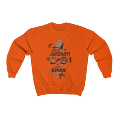 Tis The Season To Be Jolly – Merry Xmas Unisex Heavy Blend™ Crewneck Sweatshirt