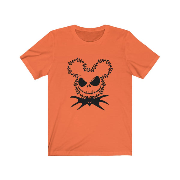 Nightmare Before Christmas Mickey Jack Unisex Jersey Short Sleeve Tee