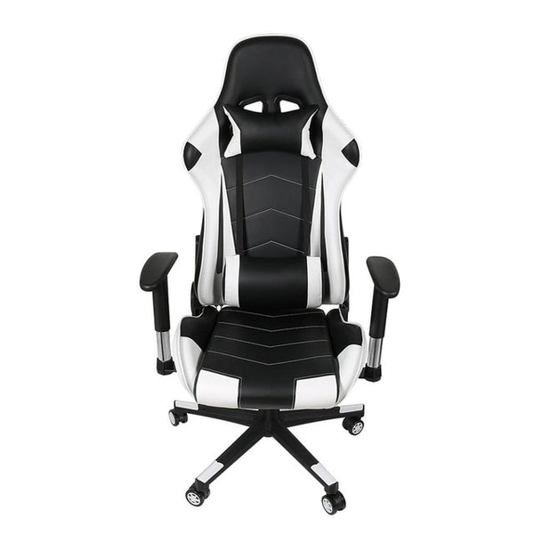 Ergonomic Computer Gaming Chair Racing High Back Soft PU Leather Adjustable Angle 360 Degree Swivel