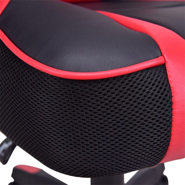 Back Racing Style High Quality PU Leather Gaming Chair Breathable Seat 5 Multi-direction