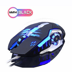 ZUOYA Gaming Mouse DPI adjustable LED bright wired Optical USB  Gamer Mice Game Mause For PC Computer Laptop professional