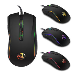 Wired Gaming Mouse 7200DPI program macro definition Professional-Grade Gamer Mice RGB Wired Mouse Optical for Laptop Computer