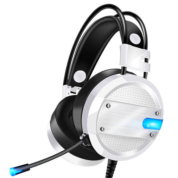 Gaming Headphone USB 3.5mm Game Headsets For PC with Microphone Gamer Earphone Interface LED Volume Control Over-ear Headphones
