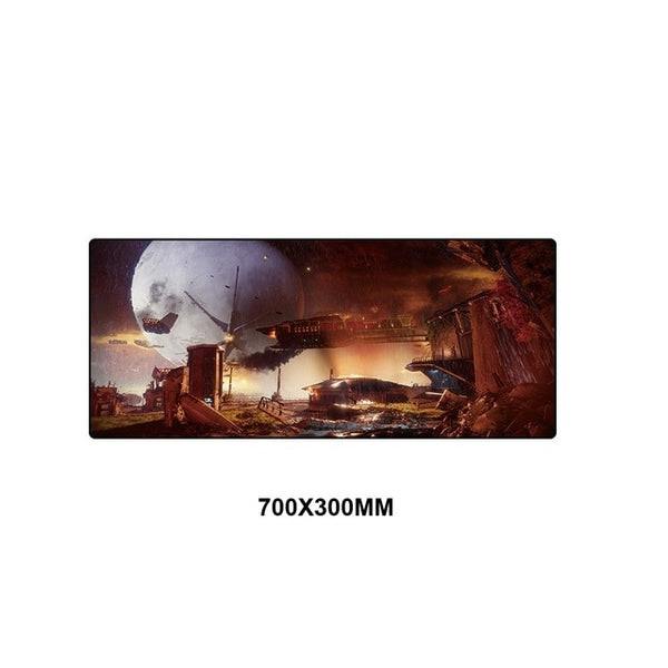 Destiny XXL full desktop coverage mouse pad