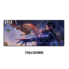 Strong and durable and high-quality Apex Legend gaming mouse pad. Increase your consistency with optimized mouse response and full desktop coverage