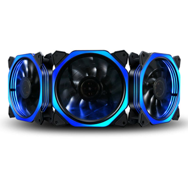 OPEN-SMART Computer Case Fan 120mm LED/RGB Silent Fan for Computer Cases, CPU Coolers, and Radiators Ultra Quiet (1PC)