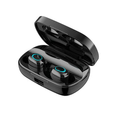 Mini TWS Wireless bluetooth 5.0 Earphone Touch Control Stereo Waterproof Gaming Earbuds DSP noise reduction in-ear