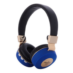 BK-66 Wireless Bluebooth Headphones Gaming Kids Headset FM Radio Support TF Card