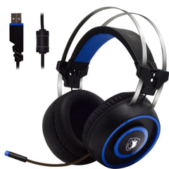 Gaming Earphones SADES A60 7.1 USB Surround Sound Stereo Over-the-Ear Gaming Headset For iOS Android Window LOL-L1030