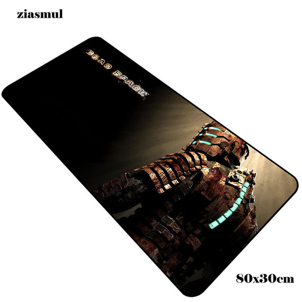 Strong and durable and high-quality Dead space gaming mouse pad. Increase your consistency with optimized mouse response and full desktop coverage