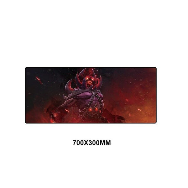 Strong and durable and high-quality Dota 2 gaming mouse pad. Increase your consistency with optimized mouse response and full desktop coverage
