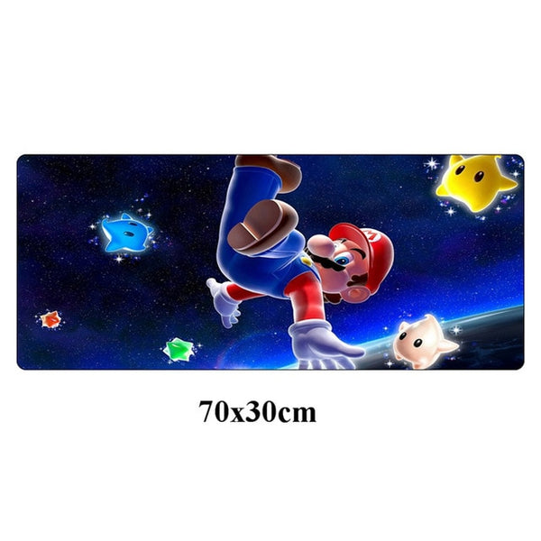 Mario full desktop coverage gaming mouse pad
