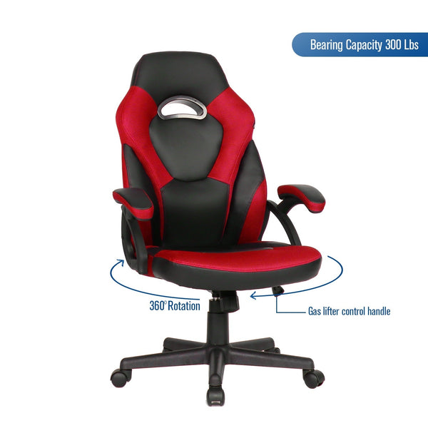 Gaming Chair Office Racing Recliner Leather Swivel Gaming Seat