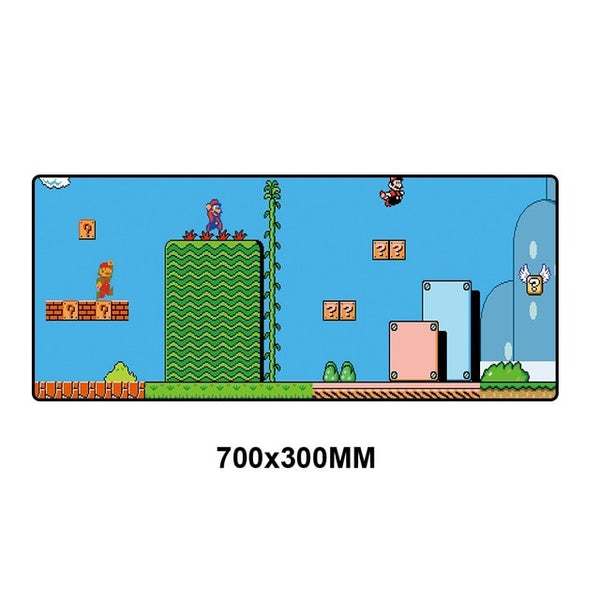 Mario Gaming full desktop coverage mouse pad