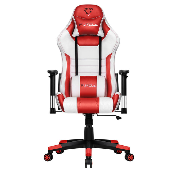 Furgle Ergonomic Game Chair with Body-hugging Leather Boss
