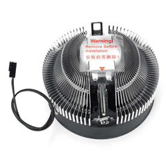 S SKYEE Cooler Fan Heatsink LED Blue Aperture CPU Cooling For Intel and AMD
