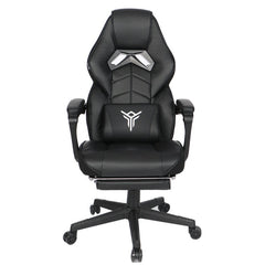 Black Gaming Chair Ergonomic Massage High Back Office Recliner Adjustable Height
