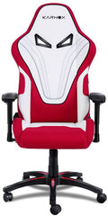 KARNOX New Hero BA Cloth Edition Gaming Office Chair with Adjustable Height and Armrests 155°Reclining with Headrest and Lumbar