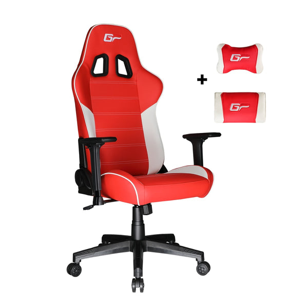 Red Victorage computer game chair racing chair