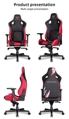 Black and Red VICTORAGE Delta VC Series Premium PU Leather Home and Gaming Chair