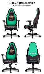 VICTORAGE Green and Black Victor VG Series Premium PU Leather Computer Gaming Chair