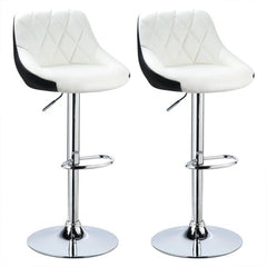Hot Bar Chairs Bar Stools 2PCS Furniture Swivel Lift Adjustable Height Bar Stools