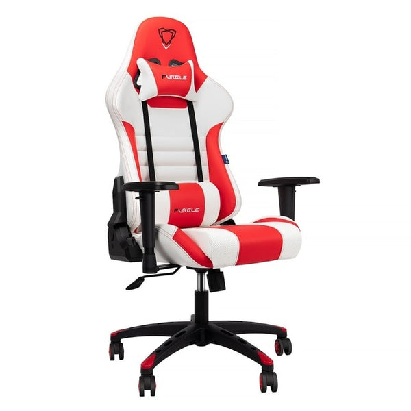 Furgle Red/White Ergonomic Pro Gaming & Office Chair