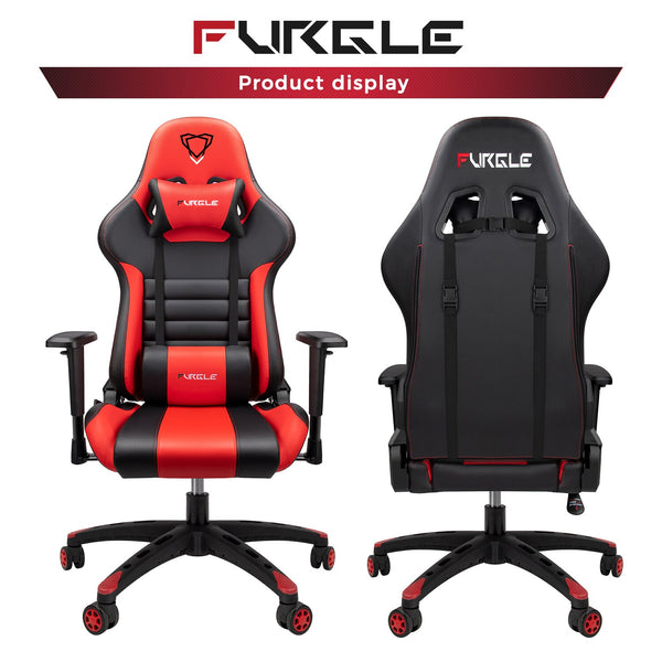 Furgle Red/Black Ergonomic Pro Gaming & Office Chair
