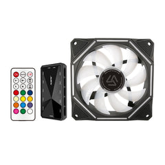 ALSEYE 120mm PC Fan Cooler Computer RGB Fan with RF Remote Control