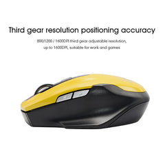 imice 2.4GHz Silent Wireless Mouse Gaming Ergonomic Mini Optical USB Computer Quiet Button Mouse Mice Gamer for PC Laptop