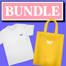 Load image into Gallery viewer, T-Shirt + Tote Bag Bundle