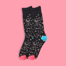 Load image into Gallery viewer, Space Themed Socks - Bundle of 3