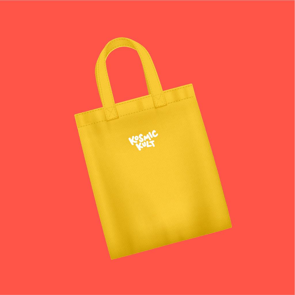 KosmicKult Tote Bag - Yellow
