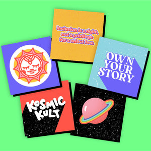 T-Shirt + Stickers Bundle