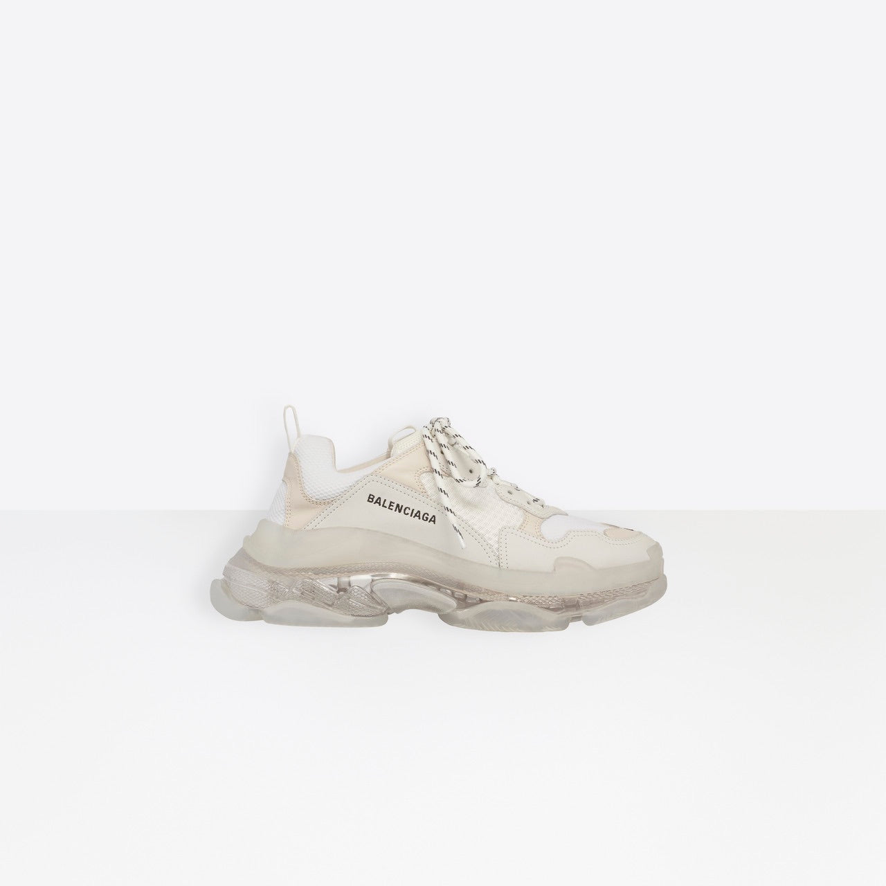 BALENCIAGA sneaker TRIPLE S CLEAR SOLE