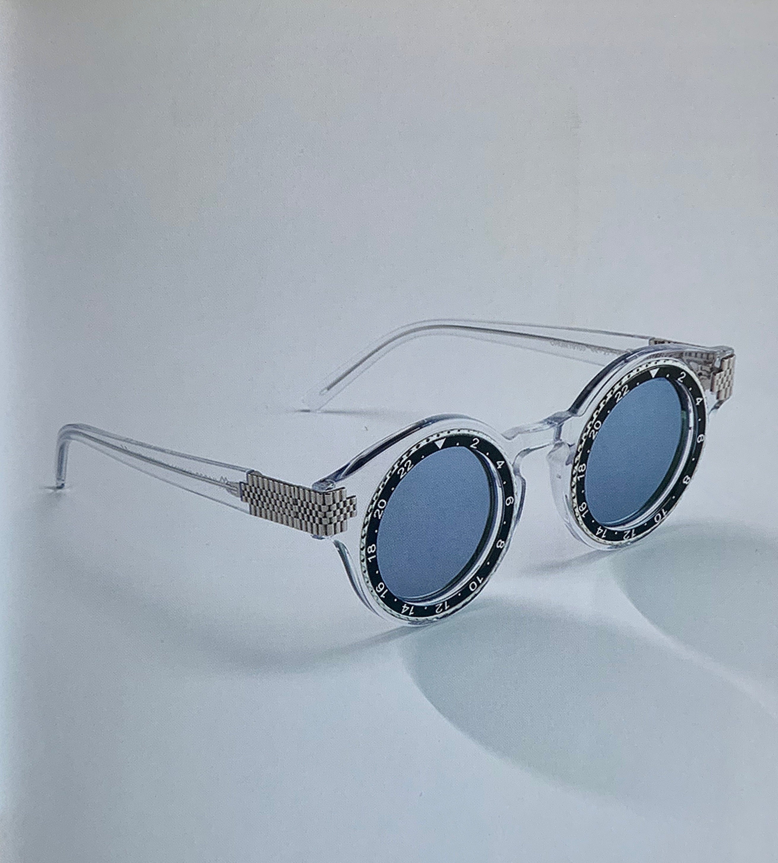 TIMESHADES Acetate collection Grey/ Mirrored
