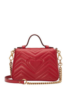 GG Marmont mini top handle bag