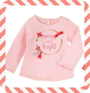 MUD PIE MERRY & BRIGHT TEE