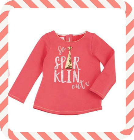 MUD PIE SO SPARKIN CUTE TEE