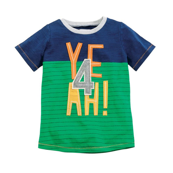 MUD PIE 4TH BIRTHDAY TEE