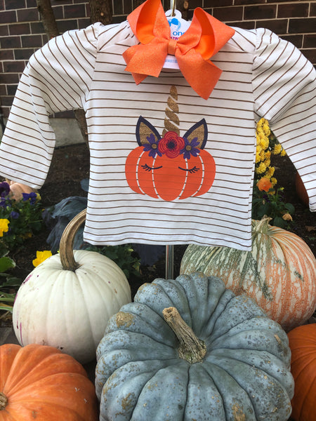 UNICORN PUMPKIN TEE