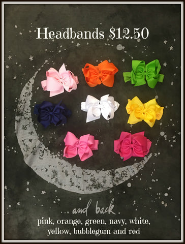 INFANT & TODDLER HEADBANDS