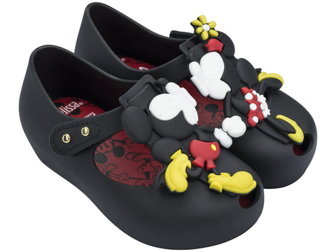 MINI MELISSA KISSING MICKEY/MINNIE