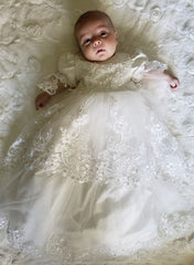 HEIRLOOM CHRISTENING GOWNS w/BONNET
