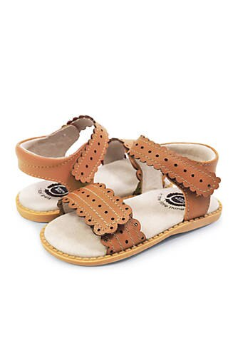 LIVIE & LUCA POSEY SANDAL in CARAMEL