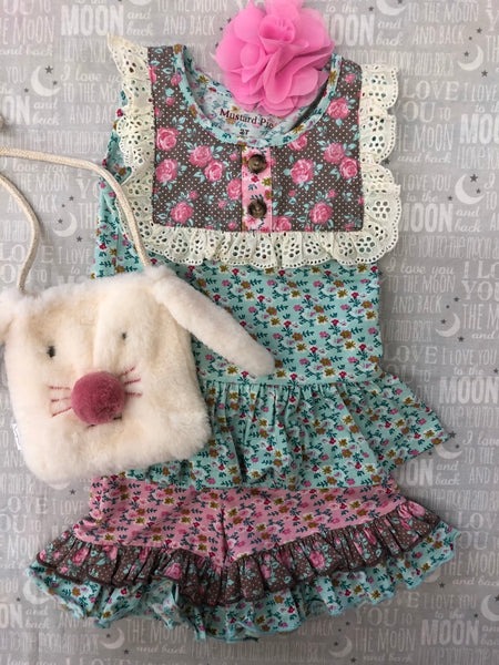 Mud Pie Bunny Purse